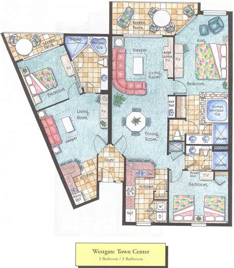 westgate town center floor plans 2br westgate town center resort timeshare free closing