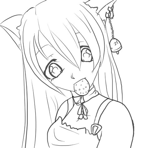 anime lineart tutorial photoshop suzu lineart by gothicraine1712 on deviantart