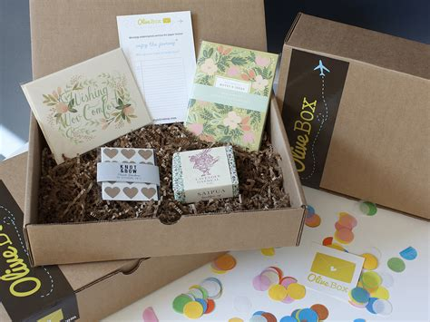 the stationery place olive box subscriptions for paper