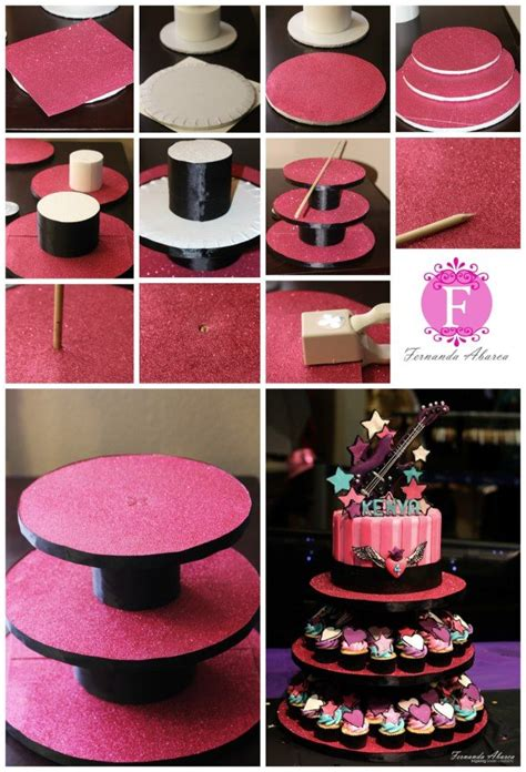Diy Cupcake Stand Ideas 17 Best Ideas About Diy Cupcake Stand On Pinterest Cupcake Display Food For Baby Shower And