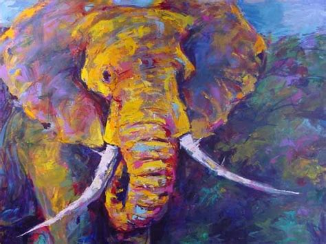 abstract elephant wallpaper abstract animal paintings artful animals quot opens at