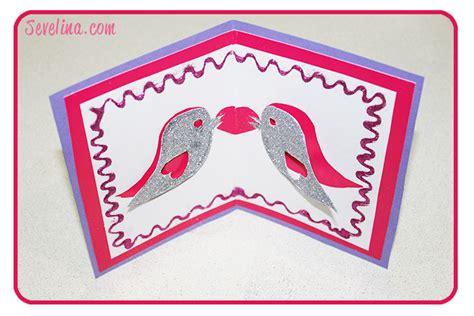 valentines pop up cards templates hacked tweet the valentines pop up card template