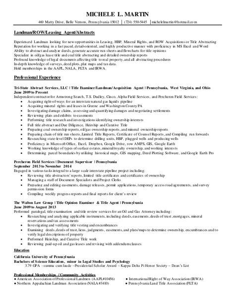 landman resume exle landman resume exles 28 images landman resume resume