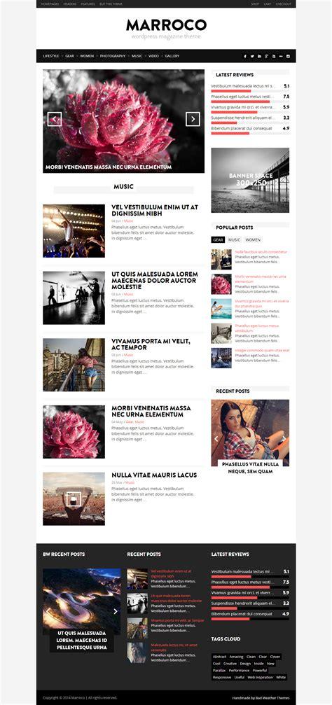 Marroco Premium Responsive Magazine Woocommerce 25 Free Premium Responsive Magazine