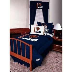chicago bears bedding cape carley bedding set queen peacock blue