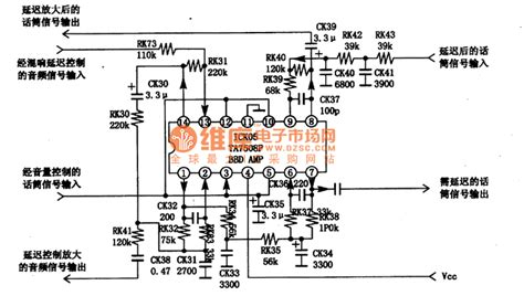 integrated circuits operational lifiers ta7508 operational lifier integrated circuit lifier circuit circuit diagram