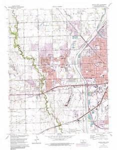 wichita map wichita west topographic map ks usgs topo 37097f4