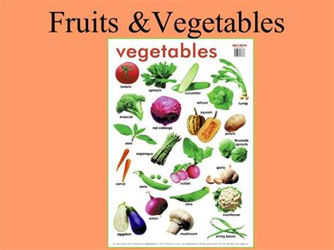 powerpoint themes fruit and vegetables fruits vegetables authorstream