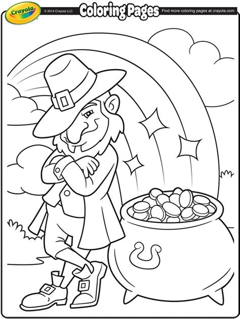 coloring book pages st day st patricks day crayola ca