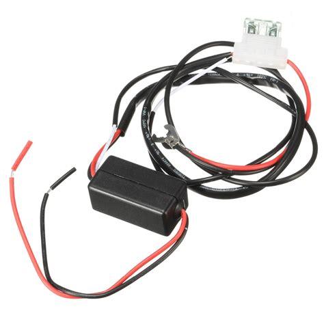 12v 2a car led ᗑ drl drl relay daytime running ᐂ light