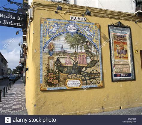 Plakat Keramik by Alten Andalusien Corrida Plakat Keramik Fliesen Werbung