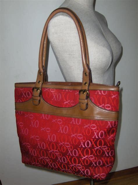 Xoxo Purse by Xoxo Signature Logo Satchel Tote Handbag Shopper Purse