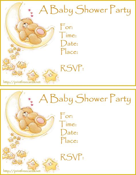 free baby shower invitations free printable invitations for baby shower
