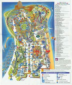 map cedar park 1998 cedar point brochure park guide