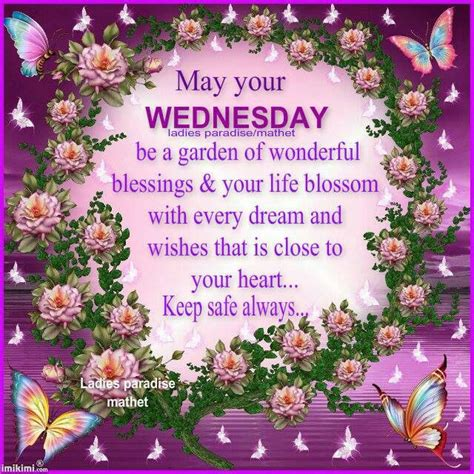 Wedding Blessing In Your Garden by May Your Wednesday Be A Garden Of Wonderful Blessings