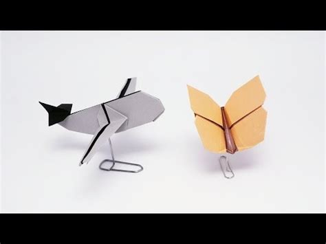 Origami Paper Clip - paper clip stand for origami origami tip 5