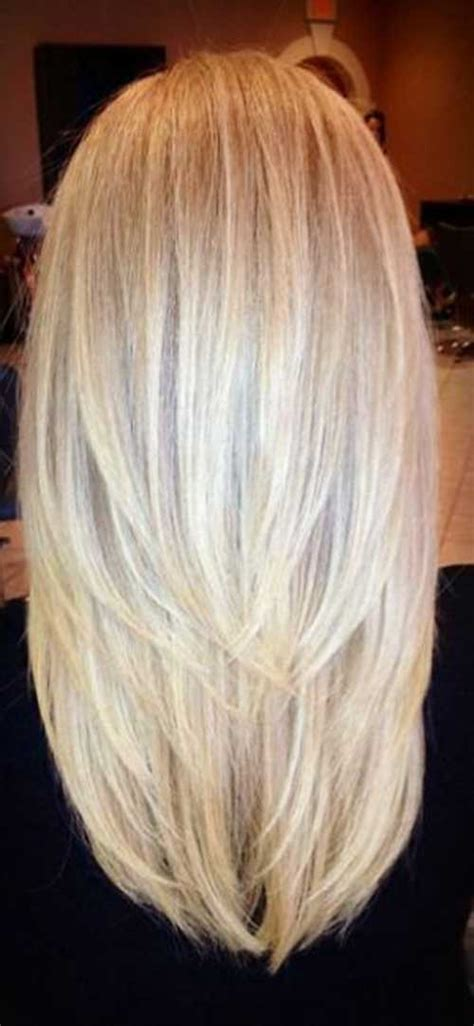 back of head layered blonde hair styles 35 latest long layered hairstyles long hairstyles 2016