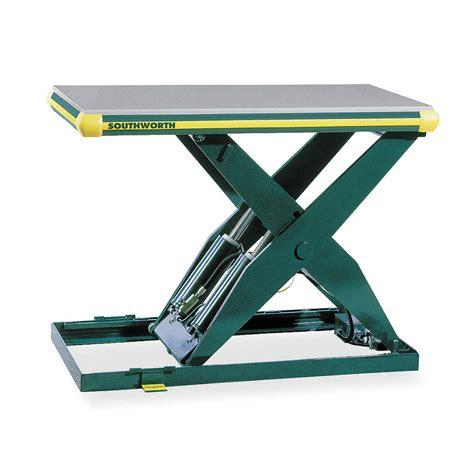 photo hydraulic scissor lift table images hydraulic