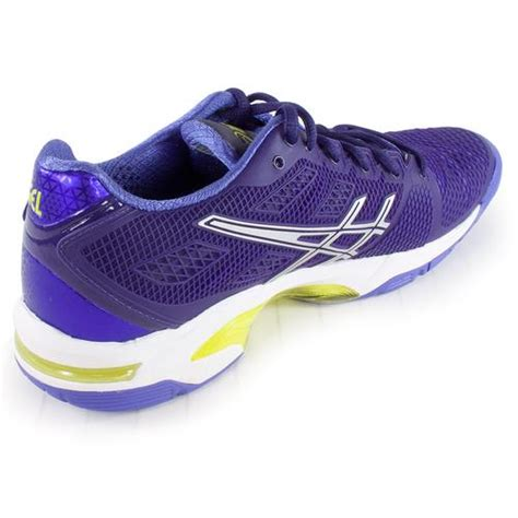 asics s gel solution speed 2 tennis shoes purple and