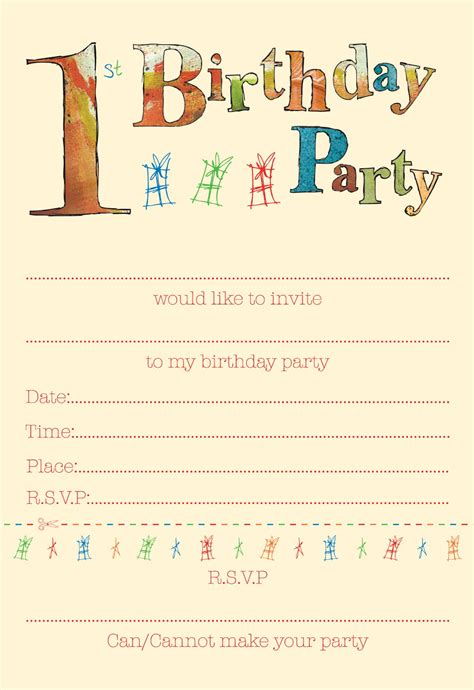 squashed rainbows children s party invites