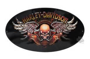 Harley Davidson Home Decor 2010441 Harley Davidson 174 Tin Sign Biker To The Bone