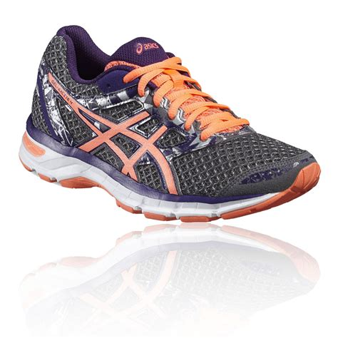 black and purple asics running shoes new trainers asics gel excite 4 womens running shoe aw16