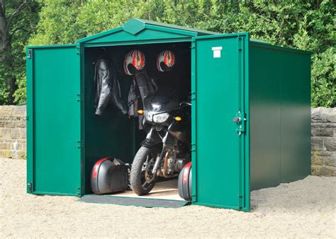 Motorcycle Shed Secure Motorcycle Storage Shed 10ft 11 Quot X 5ft Motorbike