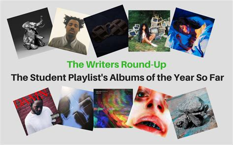 Hisd Of The Year Essays by The Writers Up Tsp Albums Of The Year So Far The Student Playlist