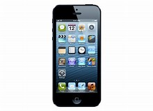 Image result for Apple iPhone 5. Size: 220 x 160. Source: www.walmart.com