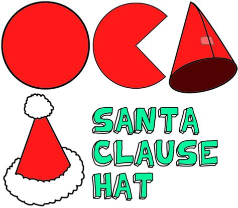 How To Make A Santa Hat Out Of Paper - santa hats craft for make santa clause