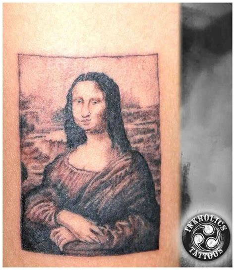 mona lisa tattoo mona picture at checkoutmyink