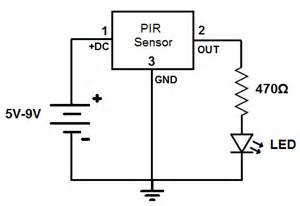 motion sensor circuit images