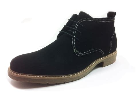 mens black dress chukka boots 28 images us5 11 real