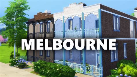 houses to buy melbourne the sims 4 build melbourne terrace houses youtube