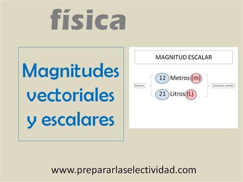 imagenes magnitudes vectoriales magnitudes escalares y vectoriales youtube