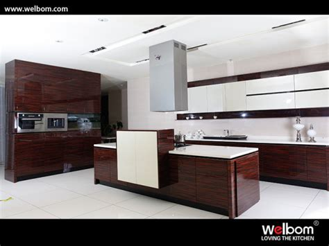 High Gloss Lacquer Kitchen Cabinets by China Wood Grain With High Gloss Lacquer Kitchen Cabinet