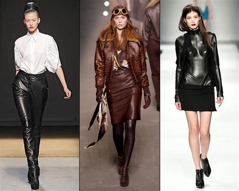 leather apparel fashionable leather clothing for women vivanspace