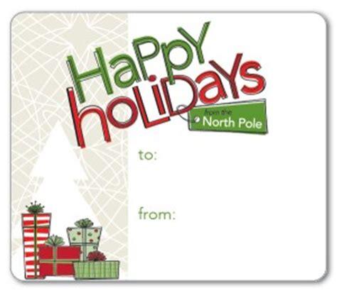 printable contemporary christmas gift tags template