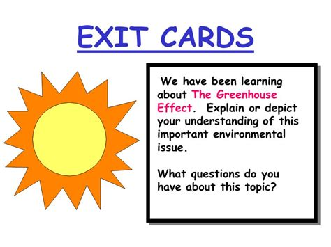 learning learning explained to your ã a guide assessment idea exit cards ppt