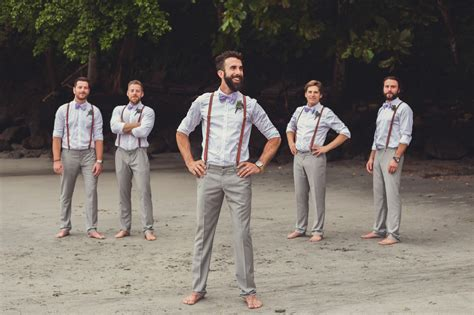 mens wedding attire with suspenders 50 groomsmen in suspender ideas jj suspenders