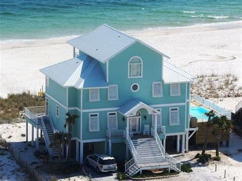 Houses In Gulf Shores by Gorgeous Custom Beachfront Home 12 X27 Pool