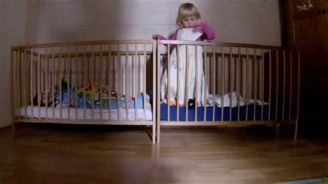 Baby Escapes Crib Baby Mission Impossible 2 Baby Escape With Crib Baby