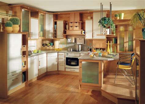 interior design idea for kitchen for small space