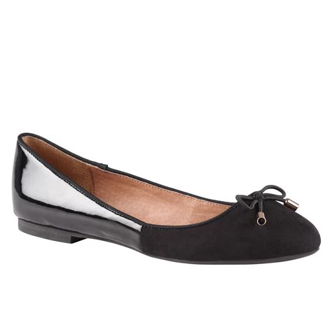 aldo shoes flats aldo raza flat ballerina shoes in black lyst