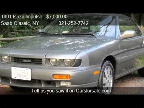 1991 isuzu impulse rs turbo awd 2dr coupe for sale in