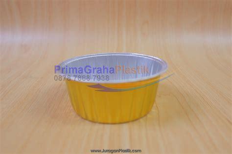 Piring Kertas Kue Tart Emas Gold Ultah Ulang Tahun Paper Plate Isi 10 kemasan aluminium foil tebal kokoh tutup bening stock indent home