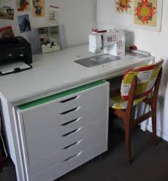 Do It Yourself Stand Up Desk Cheeky Cognoscenti Fabulous Diy Sewing Cabinet Badskirt