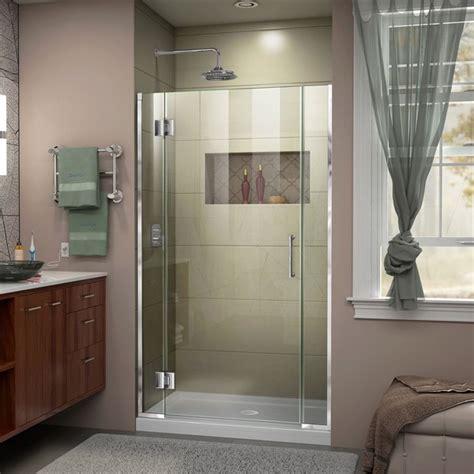 43 Inch Shower Door by Dreamline D13006572 Unidoor X 42 1 2 43 X 72 Inch Hinged