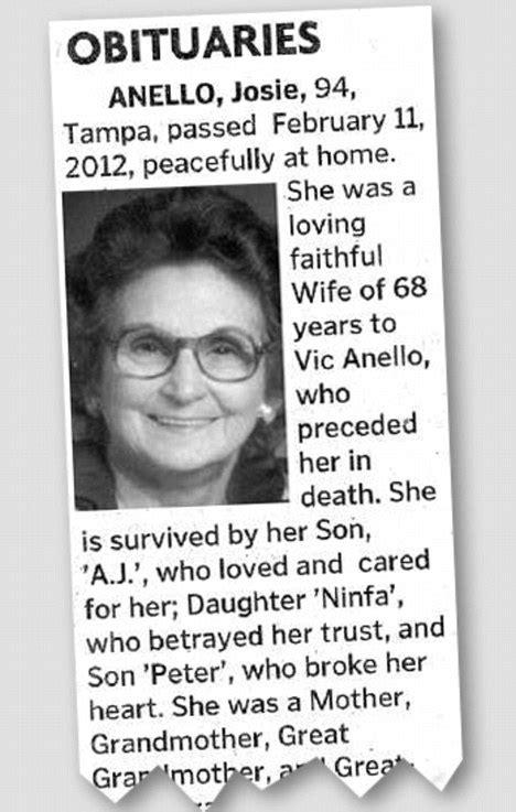 josie anello obituary   year  woman  viral