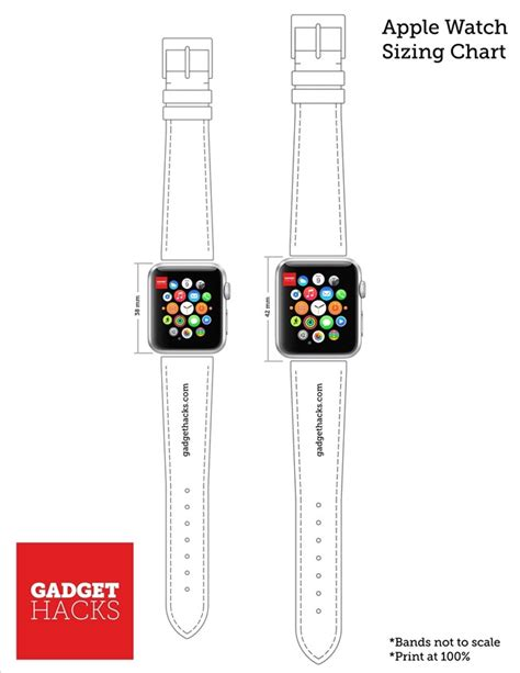 printable paper watches which apple watch size is best for you use our printable